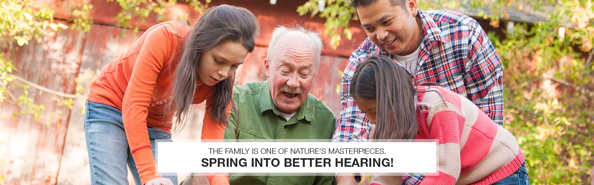 Spring Banner - Northeast Ohio Hearing Center